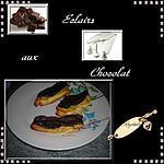 recette éclairs au chocolat