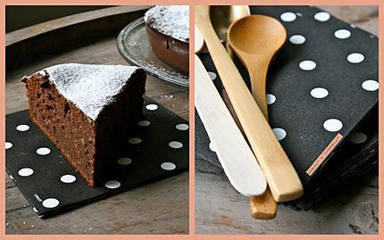 Gâteau moelleux fondant chocolat Amandes & pommes-copie-1