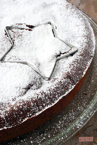 Gâteau moelleux fondant chocolat Amandes & pommes-copie-3
