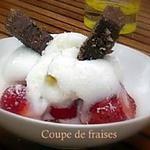 recette Coupe de fraises