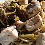 recette Wok de porc au sésame