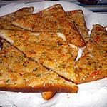 recette Toast aux crevettes et aux graines de sésame