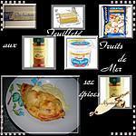 recette feuilleté aux fruits de mer sauce épices