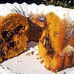 recette Le gâteau Bundt au potiron et aux noix