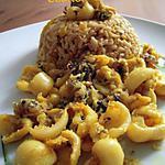 """recette Calamars sautés ou """"Koonthal Barve"""" pour un petit voyage au Kerala"""