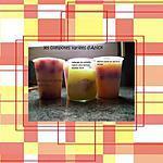 recette compote de fruits ( selon la saison ) à congeler