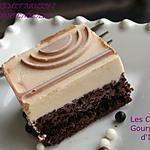 recette ENREMET BAILEY'S SUR FONDANT AU CHOCOLAT