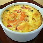 recette clafoutis au saumon fumé-féta & tomate