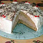 recette Gâteau à la crème et cappuccino