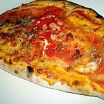 recette Pizza calzone tomate mozzarella