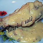 recette Blanquette de dinde moutarde - champignons