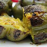 recette Recette indienne de poivrons farcis