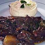 recette Boeuf bourguignon et sa purée de pomme de terre