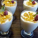 recette Mousse de mascarpone à l'ananas