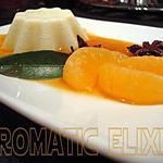 recette Panna cotta et son élixir de mandarines