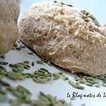 recette Scones complets aux graines de fenouil