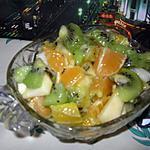 recette salade de fruits(avec des fruits tres mur)