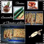recette terrine de concombre et tomates séchées