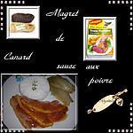 recette magret de canard sauce au poivre