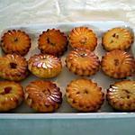 recette Muffins fleurs a l'orange et kumquats confits