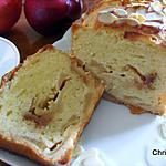 recette Cake Pommes Caramélisées et Crème d'Amandes