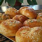 recette Petits pains brioches aux graines