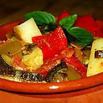 recette Légumes du soleil