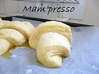 Croissants avec pâte feuilletées levée rapide