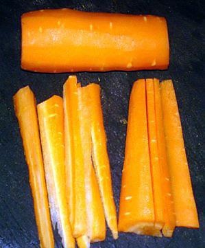 côte de veau sur un lit de fenouil et carotte à -copie-1
