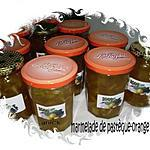 recette marmelade de pastèque et orange