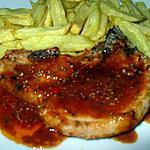 recette cotes de porc a la vénitienne