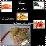 recette gratin de saumon
