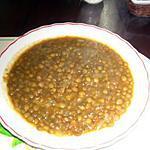 recette Lentilles