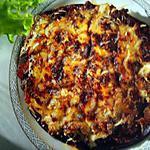 recette Aubergine gratinée à la bolognaise
