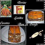 recette terrine au thon et lentilles