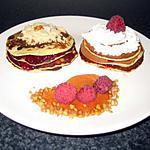 recette Pancakes aux fruits rouges