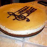 recette Bavarois poire sur fondant chocolat et craquant aux speculoos