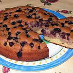 recette Gâteau vanille-chocolat-cerise