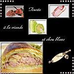 recette tourte à la viande et au chou