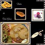 recette tatin au foie gras