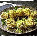 recette oeufs mimosa au saumon