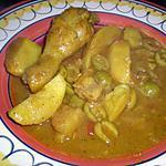 recette Tajine de poulet aux olives et au citron