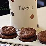 recette cookies au chocolat et cranberrys