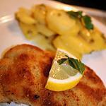 recette Wiener schnitzel (escalope viennoise) Europe Tour: Autriche