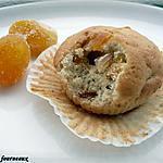 recette Muffins aux kumquats confits & à la fève Tonka