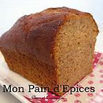 recette Mon Pain d'Epices aux écorces d'oranges confites