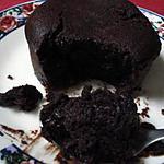 recette Fondant chocolat,au coeur coulant...