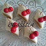recette kefta décoré en cerise (pâte d'amande) le maspain