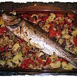 recette loup de mer au four