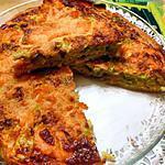 recette tarte au poireaux  et au deux saumons
